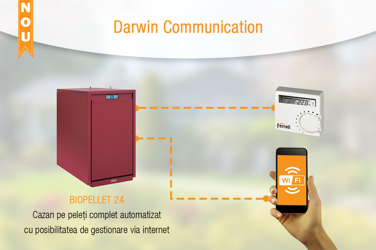 Ferroli Darwin Communication